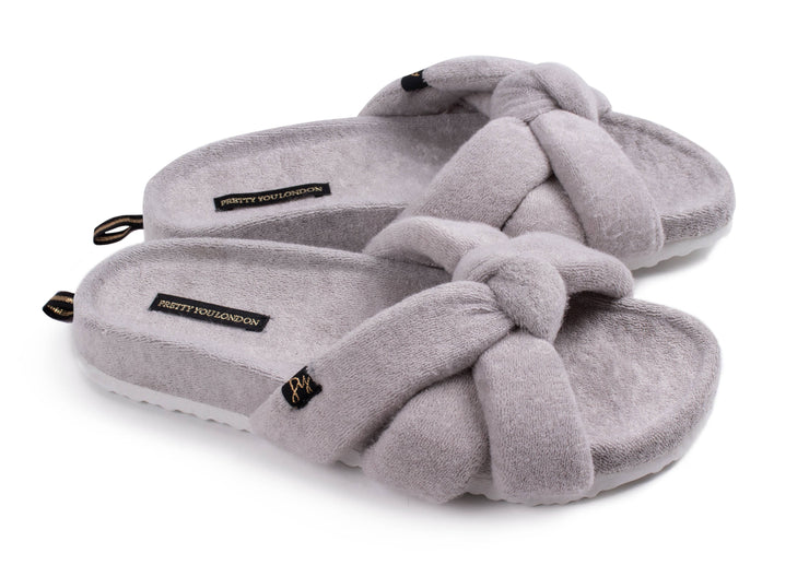Hospital Slippers in Gray