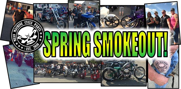 "Join Dirty Biker Design Co. at Mean Machine's ""Spring Smokeout!"""