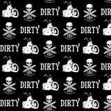 Dirty Biker Design - Pattern Leggings