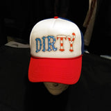 Dirty Biker Design  - Dirty 'Merica Snap Back