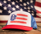 Dirty Biker Design  - Dirty American Biker Snapback