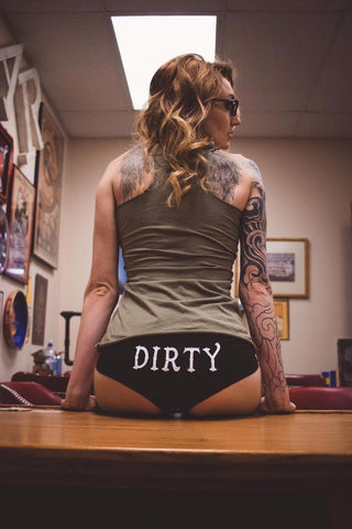 """Dirty"" Women's Shortie"