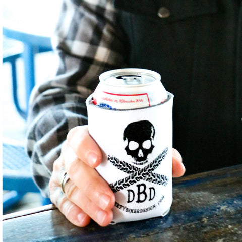 Dirty Biker Design - Logo Koozie