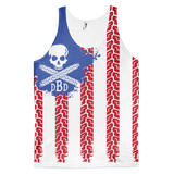 Dirty Biker Design - Logo 'Merica Tank Top
