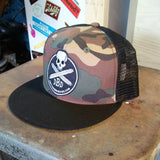Dirty Patch Camo Snapback Hat
