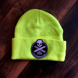Safety Green Logo Beanie