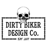 Dirty Biker Design Chain Long Sleeve