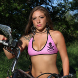 Dirty Biker Punk Rock Pink Bikini