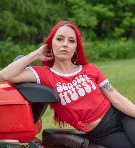 Scooter Hussy T-Shirt