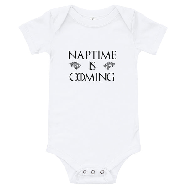 Naptime is Coming! Game of Thrones Baby Bodysuit