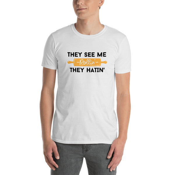 They See Me Rolling They Hating, Men's Cooking T-shirt