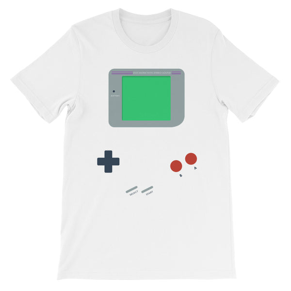 Retro Video Game Men's T-Shirt With Tear Away Label