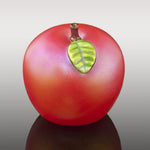 Iridescent Red Apple