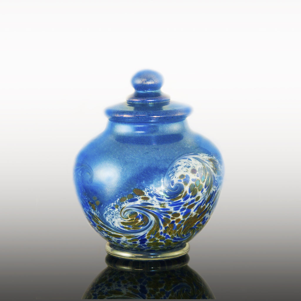 Ocean Wave Keepsake Jar