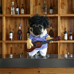 Guitar Player Dog Costume