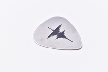 Customized Sound Wave Guitar Pick