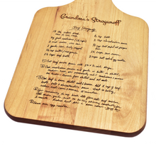 Handwritten Recipe Cutting Board - OpenHaus Gifts