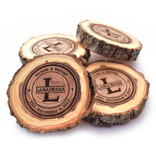 Wood Coasters - Rustic Fall Decor - OpenHaus Gifts