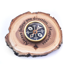 Wood Compass Holder - OpenHaus Gifts