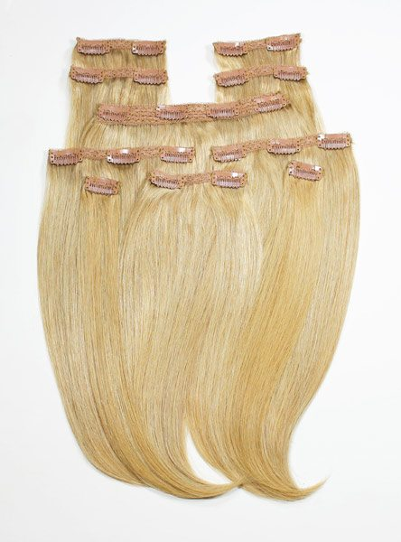 #27 Strawberry Blonde Clip ins
