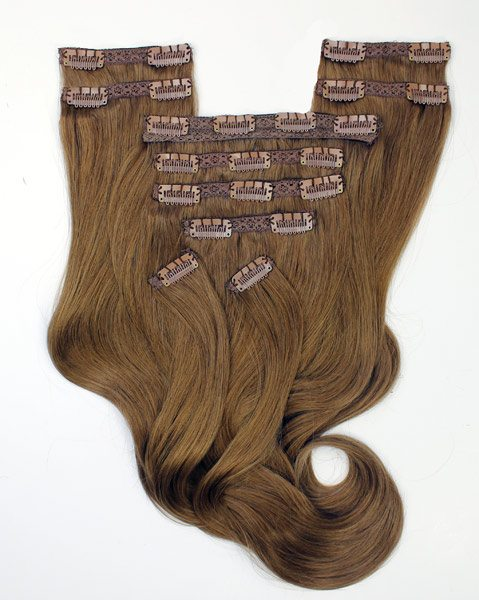 #4 Chocolate Brown Clip ins