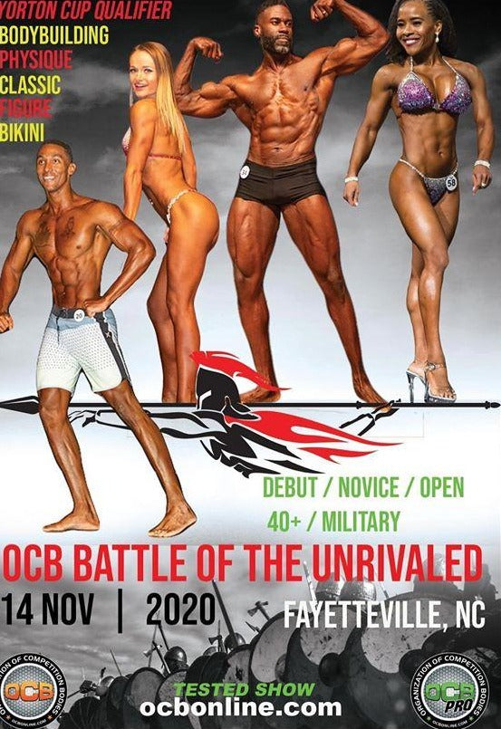 OCB Battle of the Unrivaled, Fayetteville NC 11/14