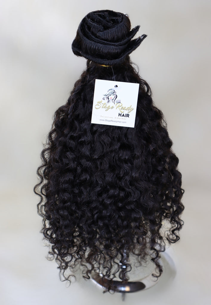 Curly Clip-ins- CLEARANCE