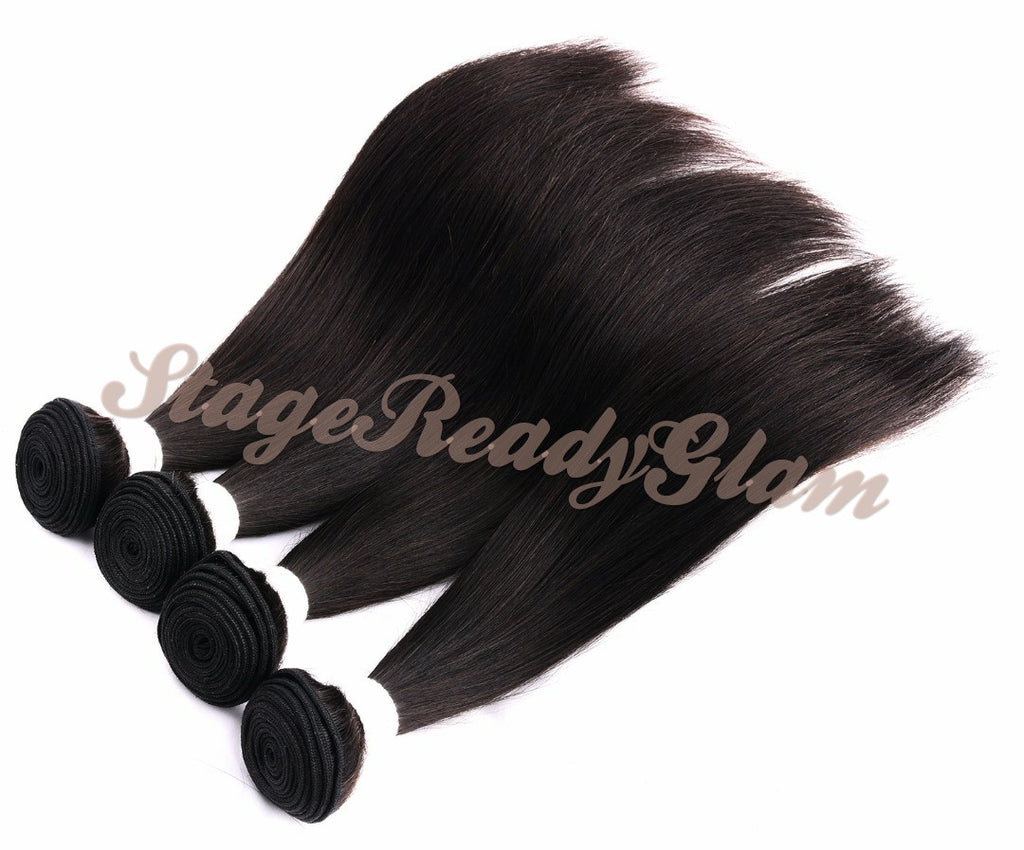 100% Virgin Human Hair - Straight