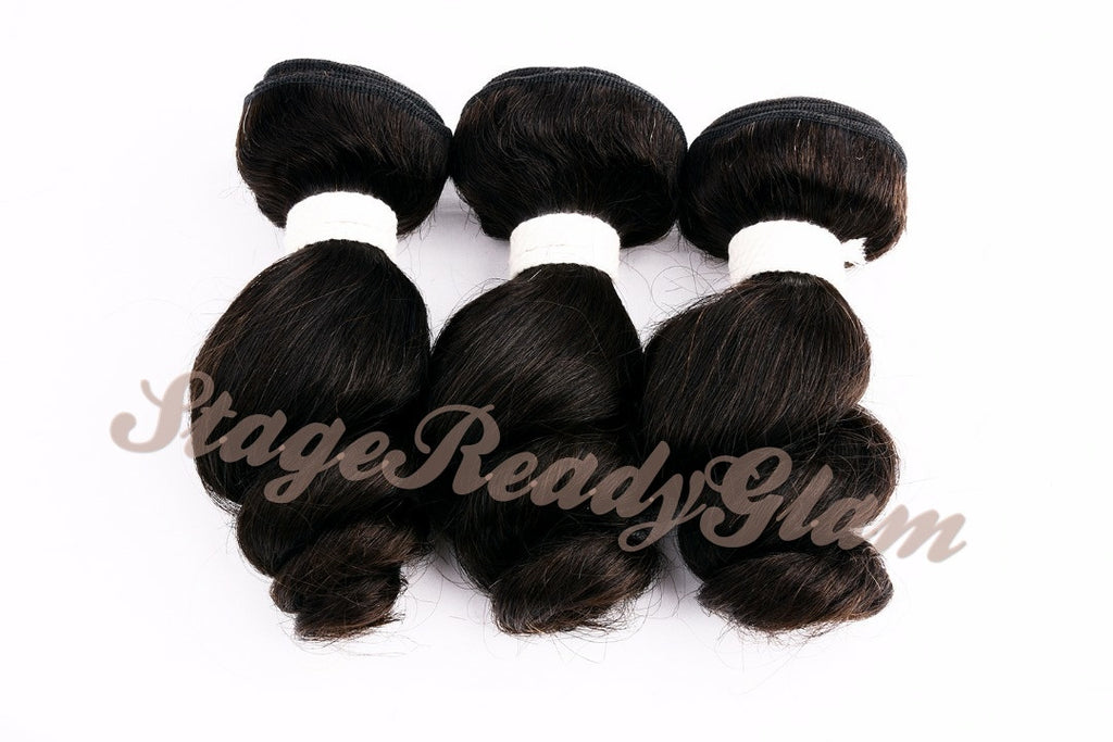 100% Virgin Human Hair - Loose Curl