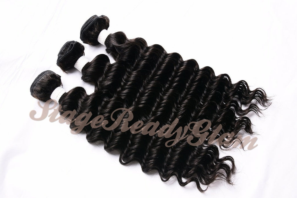 100% Virgin Human Hair - Deep Wave