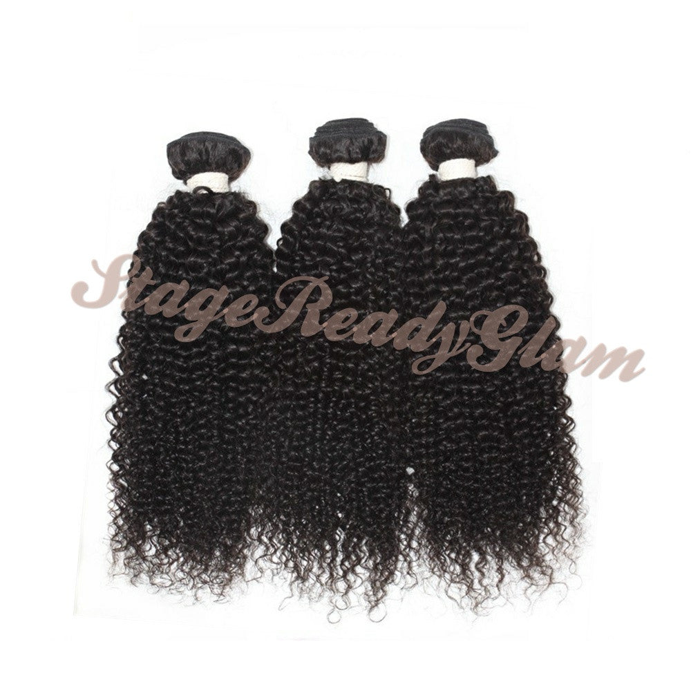 100% Virgin Human Hair - Kinky Curly