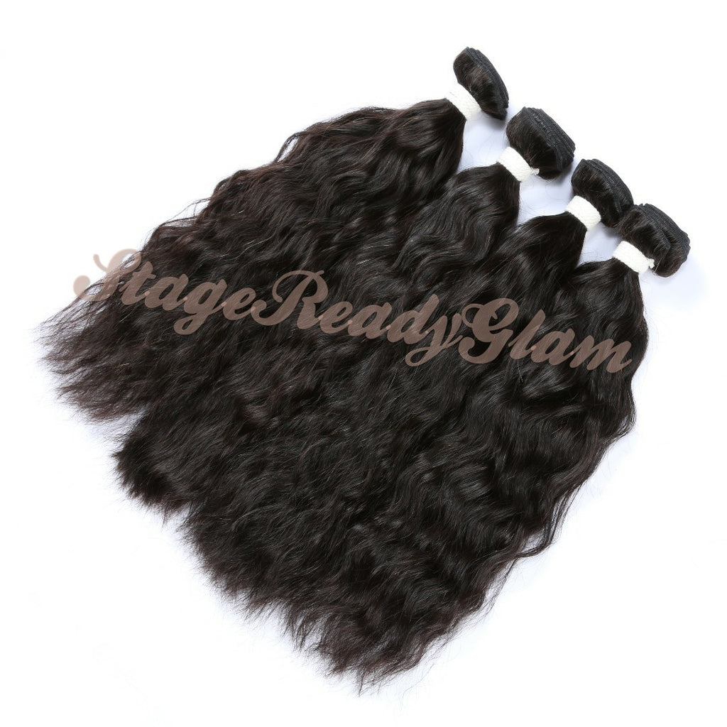 100% Virgin Human Hair - Natural Wave