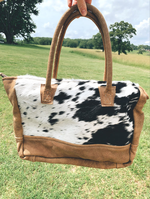 Cowhide Mayra Purse