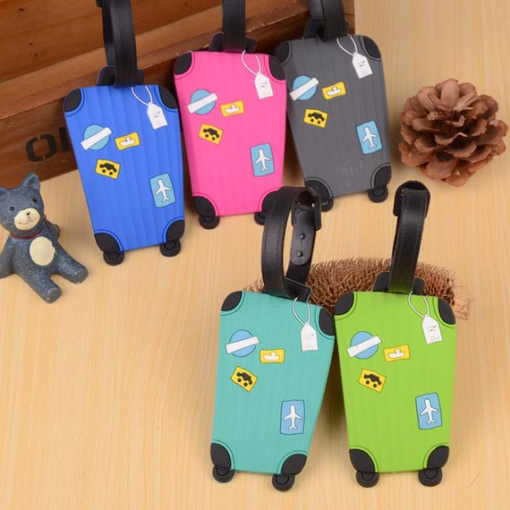 Suitcase Luggage Tags ID Address Holder