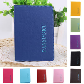 high quality soft PU leather passport cover
