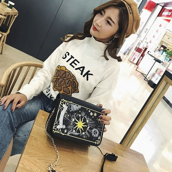 luxury Girls Women Retro Female Simple Bag