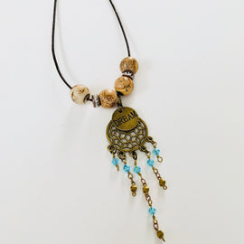 BoHo Dream Catcher Necklace
