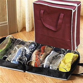 33*38CM Travel Storage Shoes Bag Non-woven Outdoor