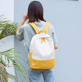 Casual Fashion Women Travel Backpacks Canvas Hit
