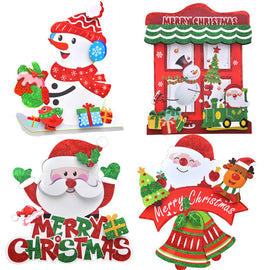 Christmas 3D Romantic Xmas String Hanging Charm