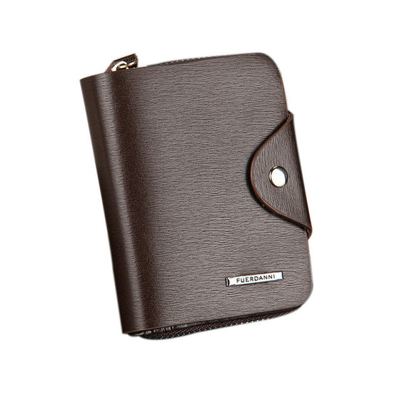 Fashion Men Wallets PU Leather ID Card Holder