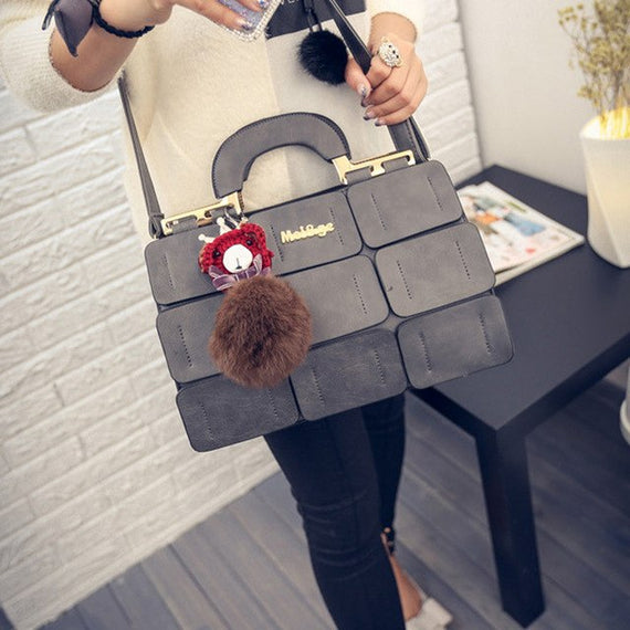 Fashion Women Messenger Bags pu Leather Handbag