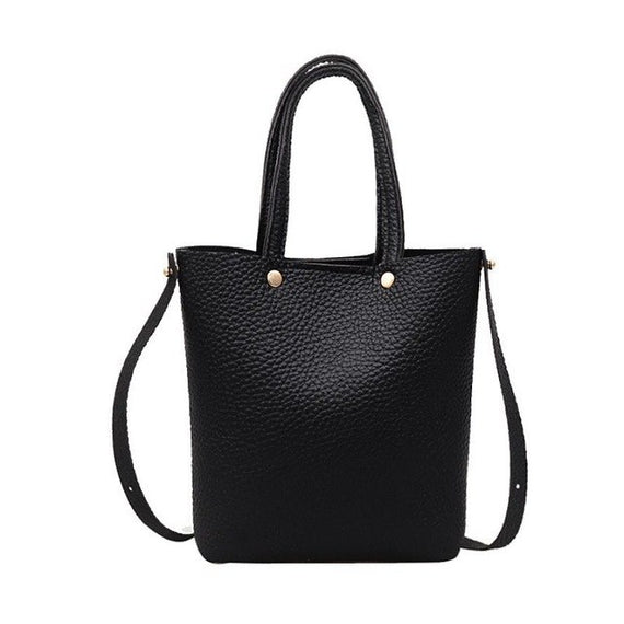 Fashion bags for Women pu Leather Pure color