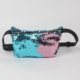 Fashion waist bags women  Casual Double Color