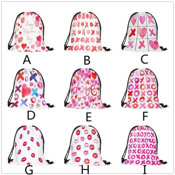 Fashion women men  Drawstring Bag Sack Travel