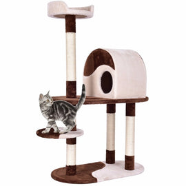 "Golpus 48"" Cat Tree Kitten Activity Tower Pets"