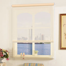 "20""x60"" Semi-shut Roller Blind Sunscreen"