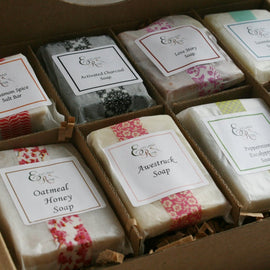 Soap Sampler Gift Set - Handmade soap| Natural