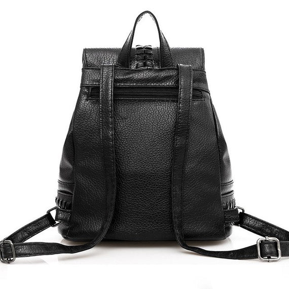 Luxury Backpack Women Leisure Student Schoolbag