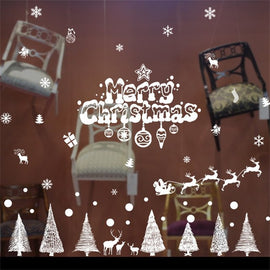 Merry Christmas Home Household Room Wall Sticker
